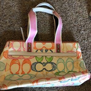 Coach spring handbag